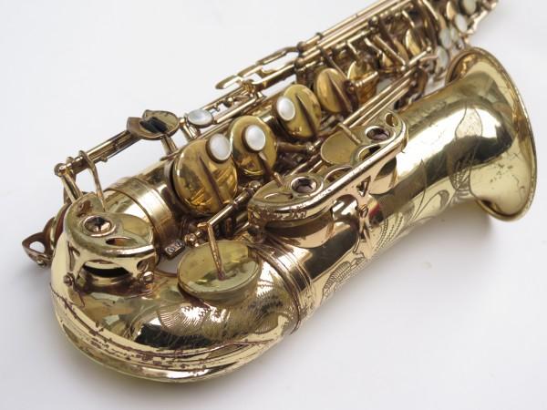 Saxophone alto Selmer Mark 6 verni gravé (7)