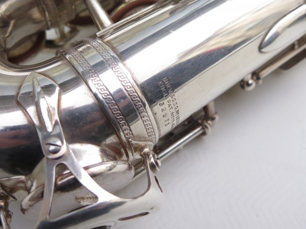 Saxophone alto Selmer balanced action argenté (4)