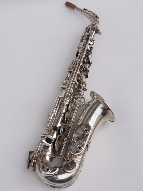Saxophone alto Selmer balanced action argenté (5)