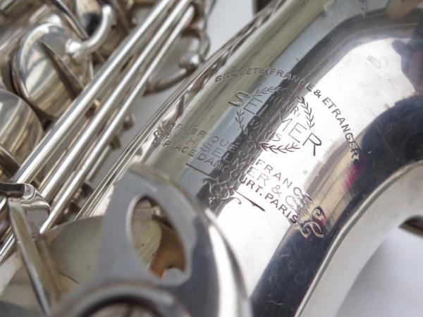 Saxophone alto Selmer balanced action argenté (8)