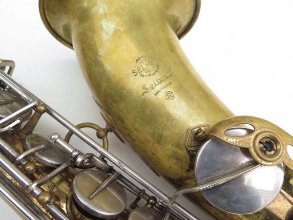 Saxophone ténor Selmer mark 6 (3)