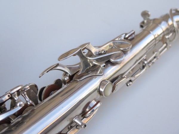 Saxophone alto Selmer Balanced Action argenté (2)