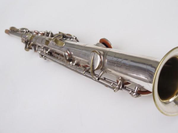 Saxophone soprano Martin argenté (2)