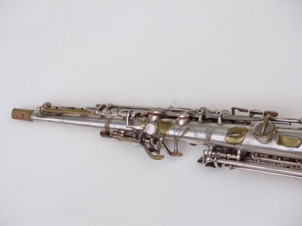 Saxophone soprano Martin argenté (4)