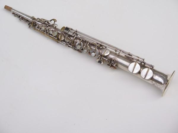 Saxophone soprano Martin argenté (6)