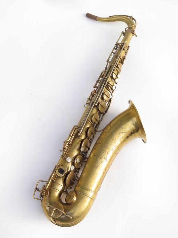 Saxophone ténor Selmer Cigar Cutter verni (8)