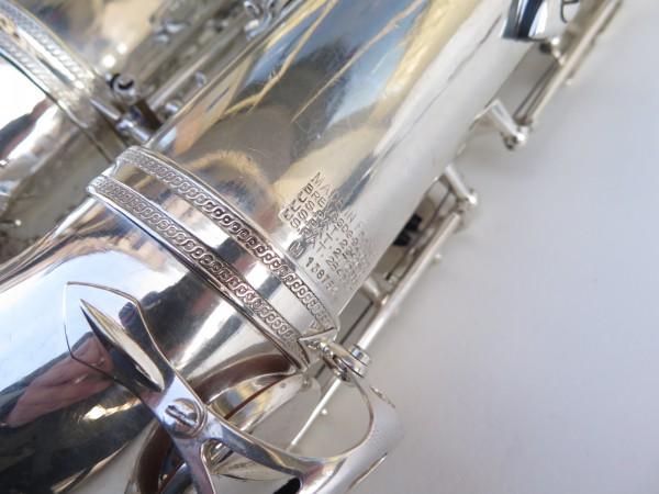 Saxophone ténor Selmer Mark 6 argenté (18)