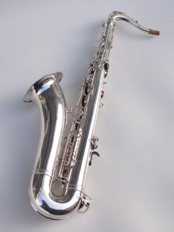 Saxophone ténor Selmer Mark 6 argenté (5)