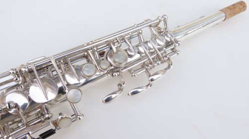 Saxophone soprano Selmer super balanced action transitionnel argenté (1)