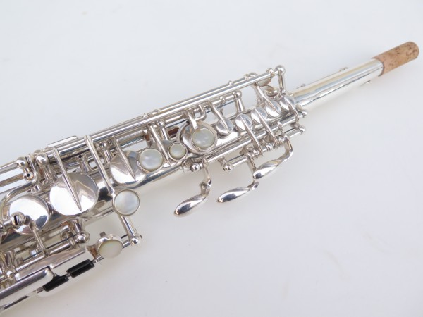 Saxophone soprano Selmer super balanced action transitionnel argenté (1)