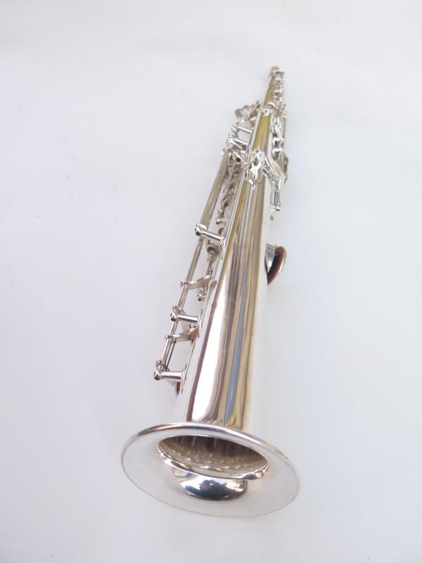 Saxophone soprano Selmer super balanced action transitionnel argenté (12)