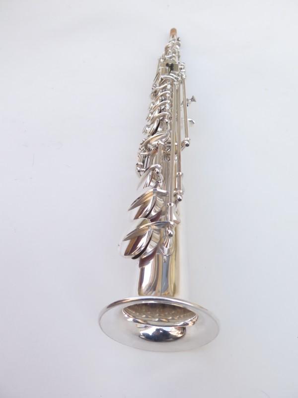 Saxophone soprano Selmer super balanced action transitionnel argenté (13)