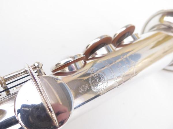 Saxophone soprano Selmer super balanced action transitionnel argenté (19)