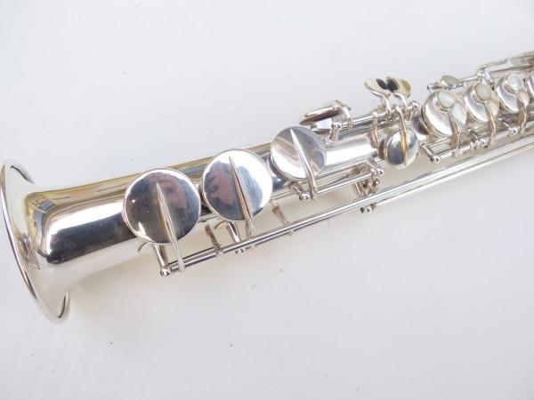 Saxophone soprano Selmer super balanced action transitionnel argenté (3)