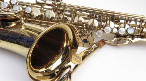 Saxophone alto Buffet Crampon S1 verni gravé (1)