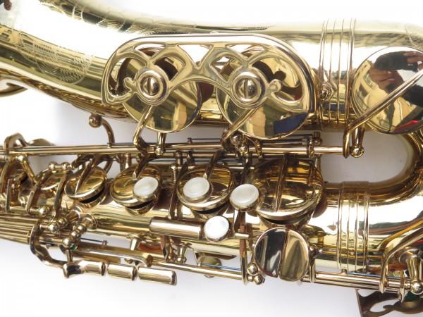 Saxophone alto Buffet Crampon S1 verni gravé (15)