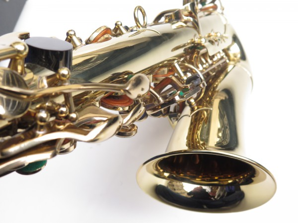 Saxophone alto Buffet Crampon S1 verni gravé (17)