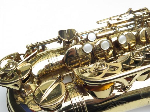 Saxophone alto Buffet Crampon S1 verni gravé (2)