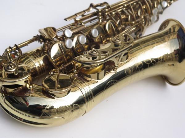 Saxophone alto Buffet Crampon S1 verni gravé (9)