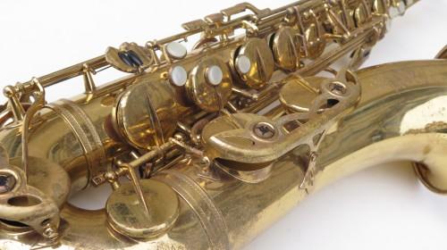 Saxophone ténor Selmer Mark 6 Permagold verni (1)
