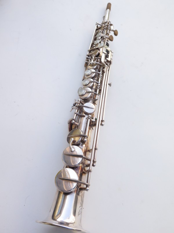Saxophone soprano Selmer Mark 6 argenté gravé (12)