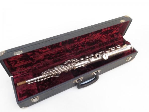 Saxophone soprano Selmer Mark 6 argenté gravé (17)