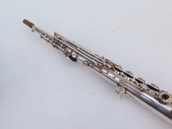 Saxophone soprano Selmer Mark 6 argenté gravé (2)