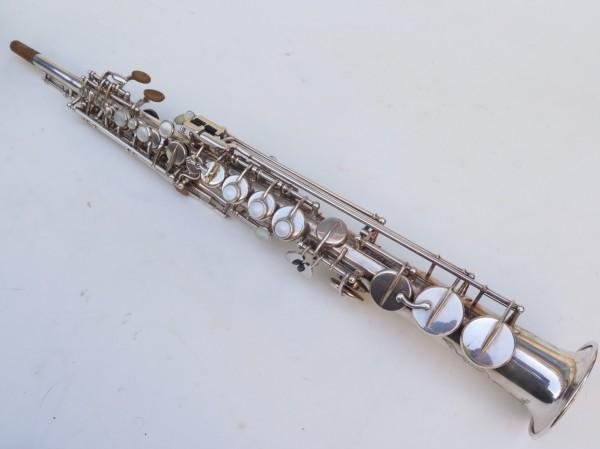 Saxophone soprano Selmer Mark 6 argenté gravé (3)