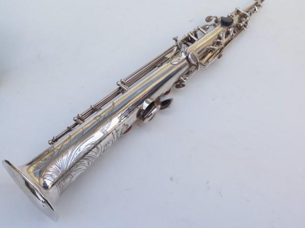 Saxophone soprano Selmer Mark 6 argenté gravé (4)