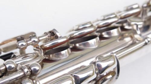 Saxophone soprano Selmer Super Balanced Action transitionnel mark 6 argenté (1)