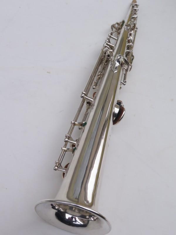 Saxophone soprano Selmer Super Balanced Action transitionnel mark 6 argenté (10)