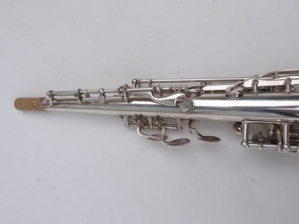 Saxophone soprano Selmer Super Balanced Action transitionnel mark 6 argenté (11)