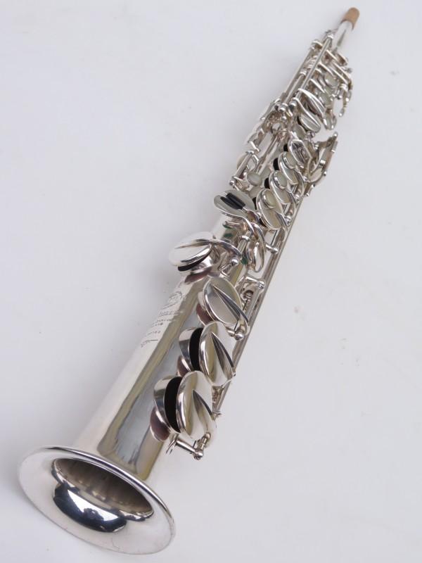 Saxophone soprano Selmer Super Balanced Action transitionnel mark 6 argenté (16)