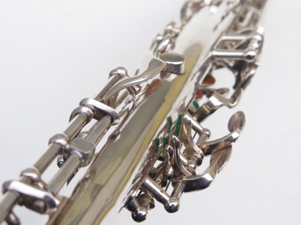Saxophone soprano Selmer Super Balanced Action transitionnel mark 6 argenté (19)