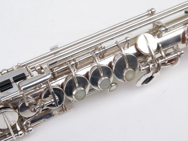 Saxophone soprano Selmer Super Balanced Action transitionnel mark 6 argenté (2)