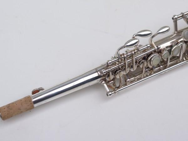 Saxophone soprano Selmer Super Balanced Action transitionnel mark 6 argenté (3)