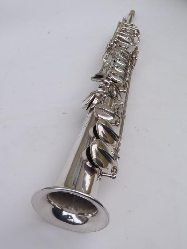 Saxophone soprano Selmer Super Balanced Action transitionnel mark 6 argenté (9)