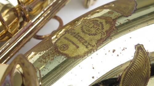 Saxophone ténor Selmer Mark 7 verni gravé (1)