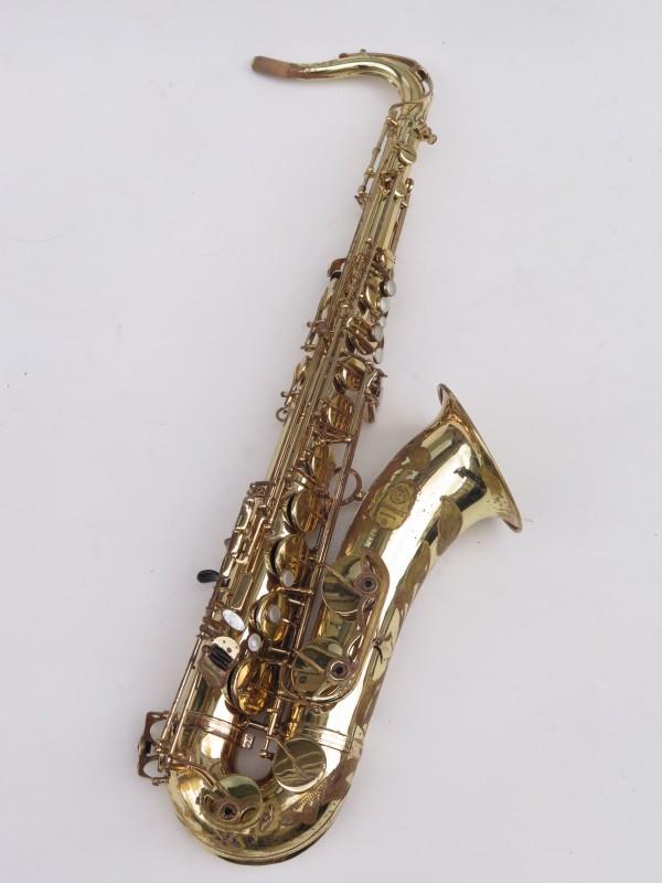 Saxophone ténor Selmer Mark 7 verni gravé (11)