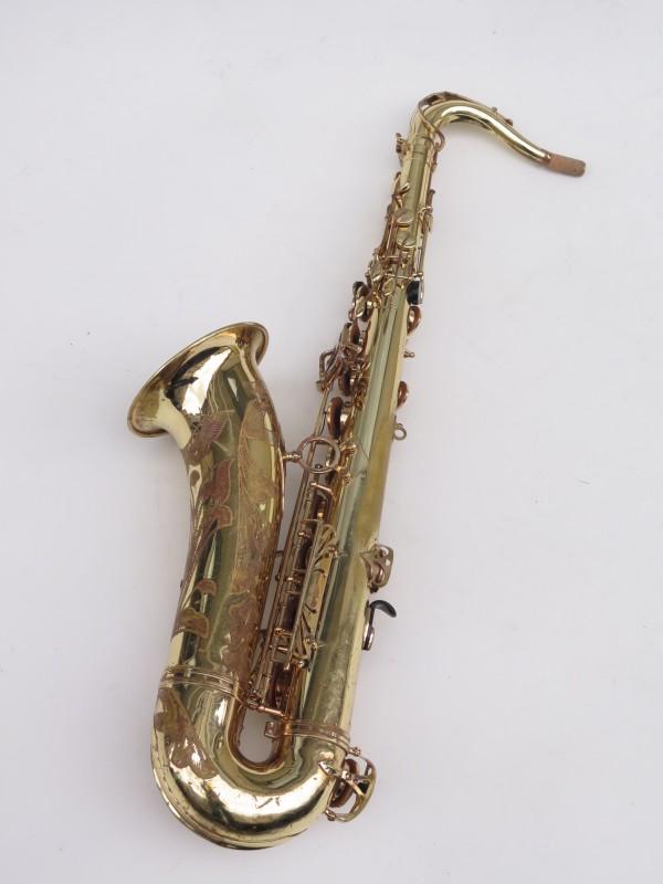 Saxophone ténor Selmer Mark 7 verni gravé (12)