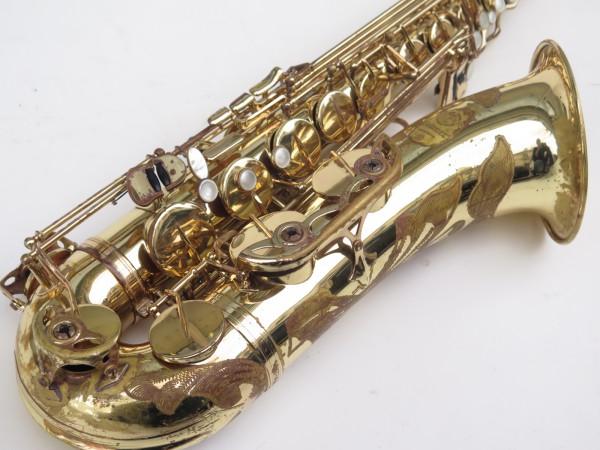 Saxophone ténor Selmer Mark 7 verni gravé (14)