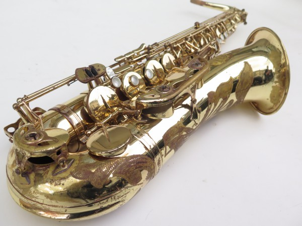 Saxophone ténor Selmer Mark 7 verni gravé (2)