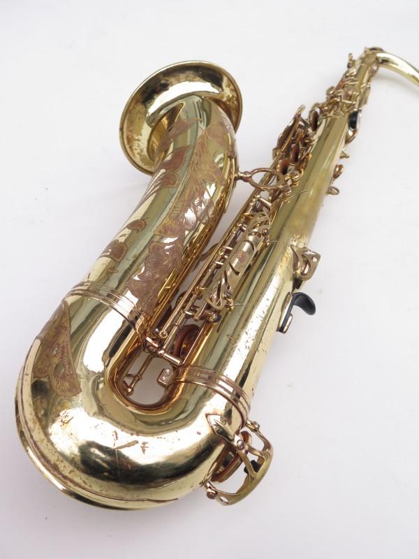 Saxophone ténor Selmer Mark 7 verni gravé (3)