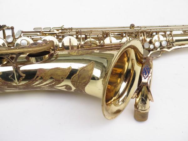 Saxophone ténor Selmer Mark 7 verni gravé (7)