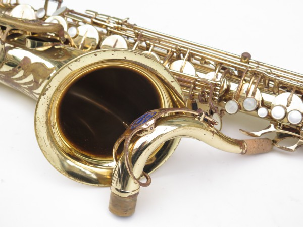 Saxophone ténor Selmer Mark 7 verni gravé (8)