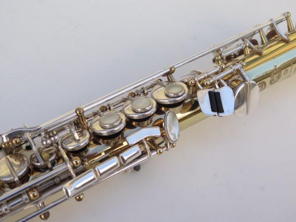 Saxophone soprano Selmer Super Action 80 série 2 verni clétage argenté (1)