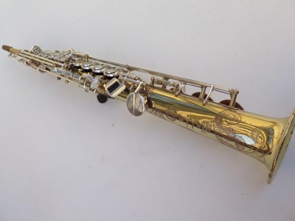 Saxophone soprano Selmer Super Action 80 série 2 verni clétage argenté (10)