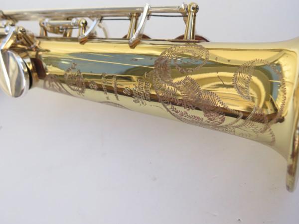 Saxophone soprano Selmer Super Action 80 série 2 verni clétage argenté (11)