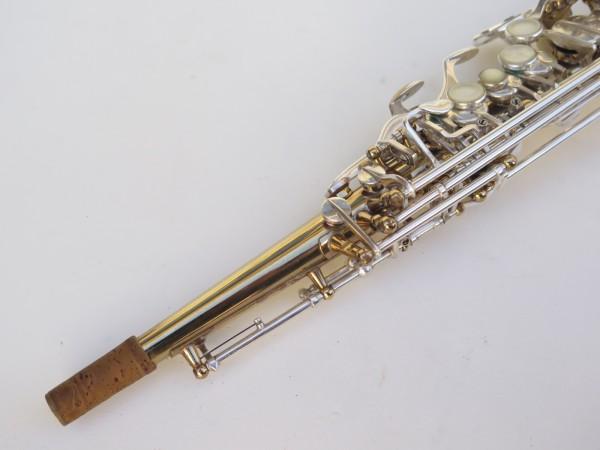 Saxophone soprano Selmer Super Action 80 série 2 verni clétage argenté (2)