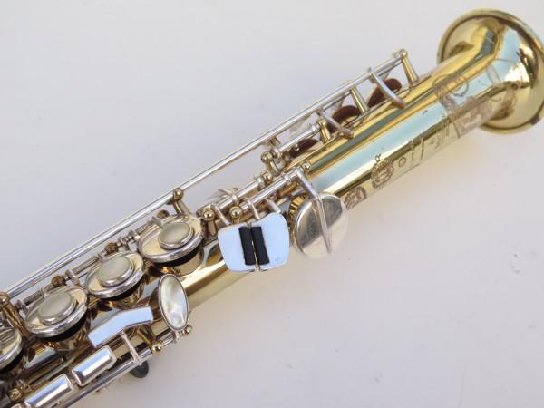 Saxophone soprano Selmer Super Action 80 série 2 verni clétage argenté (3)